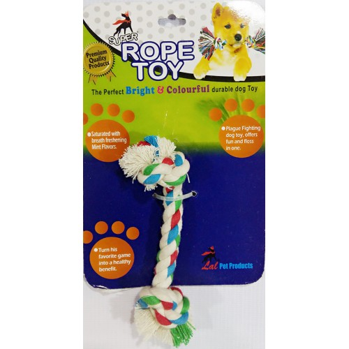 COTTON ROPE TOY SMALL