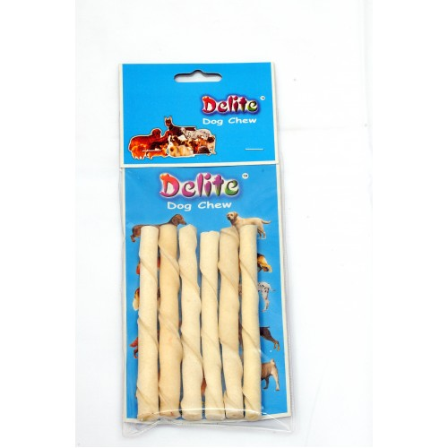 RAWHIDE TWISTED STICK 6PCS