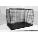 METALCAGE BLACK ELECTROCOATED107X71X76CM