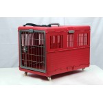 FOLDABLE PET CARRIER W/ WHEELS 67X41X48 CM