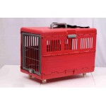 FOLDABLE PET CARRIER W/ WHEELS 97X65X69 CM