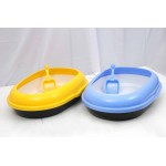 CAT LITTER TRAY W/FILTER TRAY