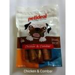Petideal Chicken & Cornbar 100gm