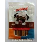 Petideal Chicken Sandwich Strips 100gm