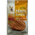Jerhigh Ham Burger chicken with Cheese