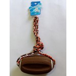 KNOTTED ROPE WITH OVAL