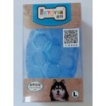 INTERACTIVE SQUEAKING TOY OVAL SHAPE (large)