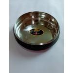 Anti Skid Steel Bowl W/Rubber Coated (MEDIUM)