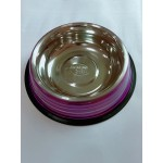 Anti Skid Belly Shaped Steel Bowl W/Color Coated