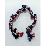 5 Knotted Rope Toy