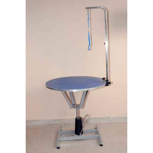 SS Grooming Table Round