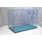 DOG CAGE BLUE 3.5 FEET (107 x 71 x 76cms)